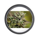 Cherry Pie (with name) Wall Clock