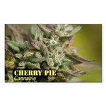Cherry Pie (with name) Sticker (Rectangle)