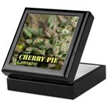Cherry Pie (with name) Keepsake Box