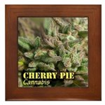 Cherry Pie (with name) Framed Tile