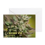 Cherry Pie (with name) Greeting Cards (Pk of 20)
