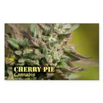 Cherry Pie (with name) Sticker (Rectangle 10 pk)