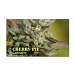 Cherry Pie (with name) Rectangle Car Magnet