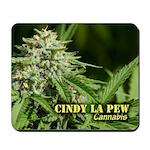 Cindy La Pew (with name) Mousepad