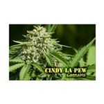 Cindy La Pew (with name) Mini Poster Print