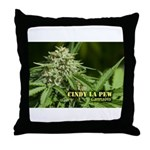 Cindy La Pew (with name) Throw Pillow