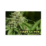 Cindy La Pew (with name) Rectangle Magnet