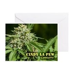 Cindy La Pew (with name) Greeting Card