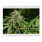 Cindy La Pew (with name) Throw Blanket