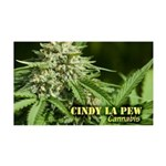 Cindy La Pew (with name) 35x21 Wall Decal