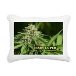 Cindy La Pew (with name) Rectangular Canvas Pillow