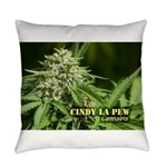 Cindy La Pew (with name) Everyday Pillow