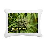 Critical Jack (with name Rectangular Canvas Pillow