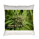 Critical Jack (with name) Everyday Pillow