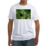 Grapefruit Kush (with name) Fitted T-Shirt
