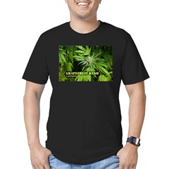 Grapefruit Kush (with Men's Fitted T-Shirt (dark)