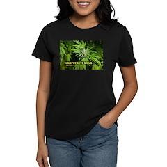 Grapefruit Kush (with name) Women's Dark T-Shirt