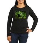 Grapefruit Kush ( Women's Long Sleeve Dark T-Shirt