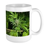 Grapefruit Kush (with name) Large Mug
