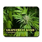 Grapefruit Kush (with name) Mousepad