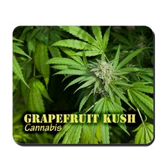 Grapefruit Kush (with name) Mousepad