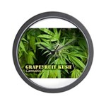 Grapefruit Kush (with name) Wall Clock