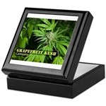 Grapefruit Kush (with name) Keepsake Box