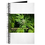 Grapefruit Kush (with name) Journal