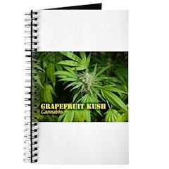 Grapefruit Kush (with name) Journal
