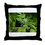 Grapefruit Kush (with name) Throw Pillow