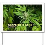 Grapefruit Kush (with name) Yard Sign