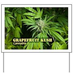 Grapefruit Kush (with name) Yard Sign