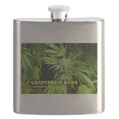 Grapefruit Kush (with name) Flask