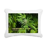 Grapefruit Kush (with na Rectangular Canvas Pillow