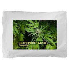 Grapefruit Kush (with name) Pillow Sham