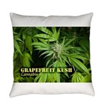 Grapefruit Kush (with name) Everyday Pillow