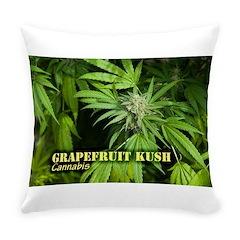 Grapefruit Kush (with name) Everyday Pillow