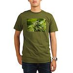 Harlequin (with name) Organic Men's T-Shirt (dark)