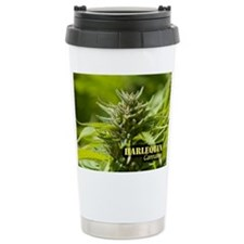 Harlequin (with name) Stainless Steel Travel Mug