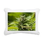 Harlequin (with name) Rectangular Canvas Pillow