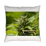 Harlequin (with name) Everyday Pillow