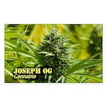 Joseph OG (with name) Sticker (Rectangle)