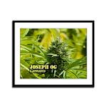 Joseph OG (with name) Framed Panel Print