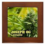 Joseph OG (with name) Framed Tile