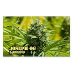 Joseph OG (with name) Sticker (Rectangle 50 pk)