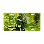 Joseph OG (with name) Aluminum License Plate