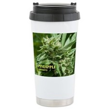 Pineapple (with name) Stainless Steel Travel Mug