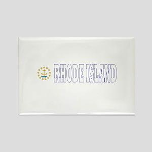 Rhode Island Rectangle Magnet