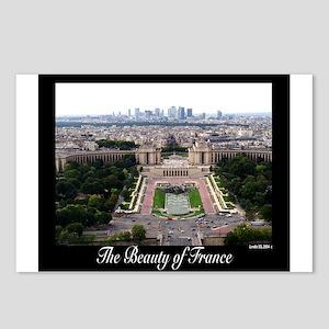 Eifel View Postcards (Package of 8)