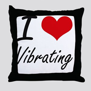 I love Vibrating Throw Pillow